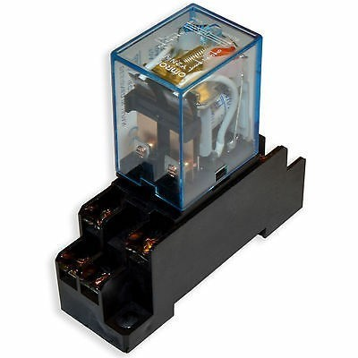 Relay Base For Omron MY2N Series