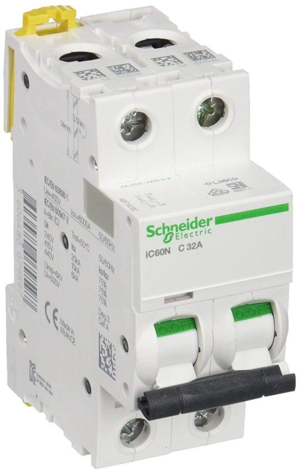 Schneider 32A 2 Pole MCB